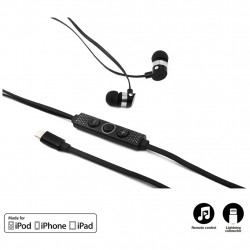 Muvit Lightning - In-ear stereohovedtelefon, Iphone 7, hovedtelefoner