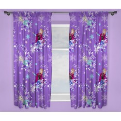 Frozen Anna Elsa Ready Made Curtains 168cm x 183cm