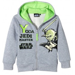 Star Wars Yoda Jedi Master Huvtröja Med Dragkedja GRÅ STL 4ÅR GRÅ Star Wars 249,00 kr product_reduction_percent
