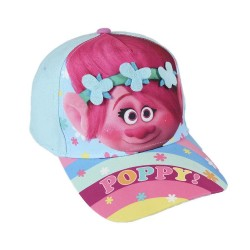 "Trolls Glitter Cap With Flowers ""POPPY"""