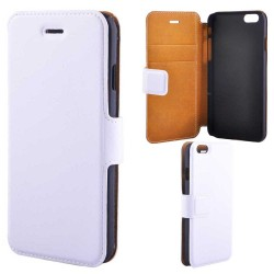 Super Slim Wallet Case For iPhone 6 / 6S, White