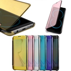 Smart View Flip Case Samsung Galaxy S8+ (S8 Plus) Cover Semitransparent