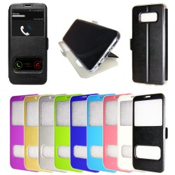 2 in 1 Flip Case Samsung Galaxy S6 magnetic closure + Screen Protector