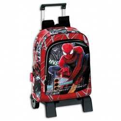 Spiderman Trolley Travel Bag Backpack 43x32x14cm