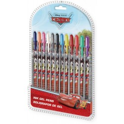 12-pack Cars Ink Gel Pens