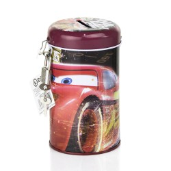 Cars Lightning McQueen Money Box Money Tin