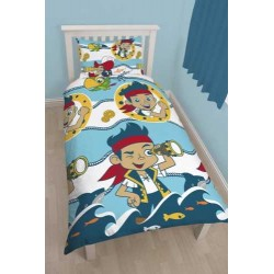Jake & The Never Land Pirates Bed linen Duvet Cover 135x200 + 48 x 74cm