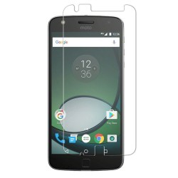 Moto Z Play Tempered Glass Screen Protector Retail Package