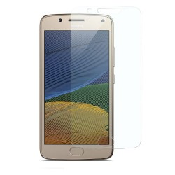 Moto G5 Plus Tempered Glass Screen Protector Retail Package