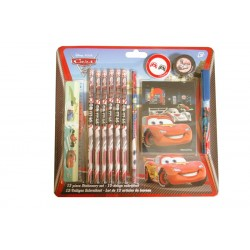Disney Pixar Cars School Set Pennset 12 stykker