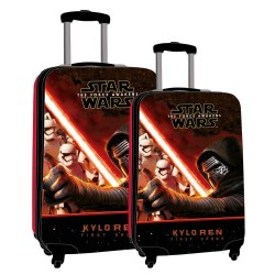 Star Wars Kylo Clean Travel Bag /Trolley Set. 62 cm & 55 cm