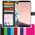 TOPPEN SLIM Samsung Galaxy S8 Plus Wallet Case ID pocket, 4pcs Cards