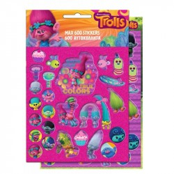 Trolls 600pcs Stickers Set