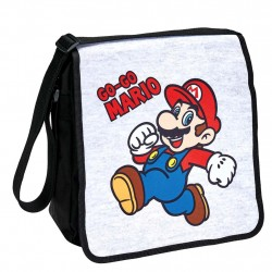 Super Mario Olkalaukku Shoulder bag School Bag 30 x 30 x 10 cm