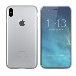 Colorfone Soft Exclusive TPU taske til iPhone X / Xs Transparent 1,2 mm