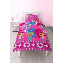 Shimmer and Shine Bed linen Pussilakanasetti 135x200 + 48x74cm