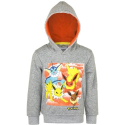 Pokemon Hoodie Hooded Sweatshirt Grå