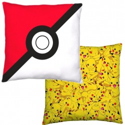 Pokemon Kudde Dubbelmotiv Vändbar Pokeball Pikachu Kuddar Pokemon Pokémon 239,00 kr product_reduction_percent