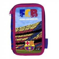 FC Barcelona 43-pieces Triple School Set Pencil Case