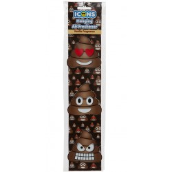 Car Air Freshener Emoji Poop For Car, Caravan, etc. Vanilla 3-p