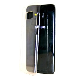 Samsung Galaxy Note 8 Snap-on Transparent Ultra Thin Hard Case Cover