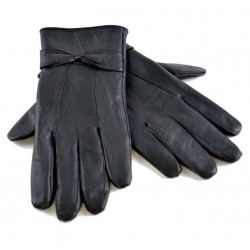 Premium Quality Ladies Leather Gloves 100% Genuine Sheepskin