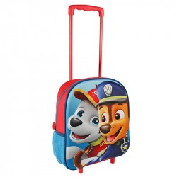 Paw Patrol Trolley Travel Bag 3D Photo Quality 31x25x10 cm