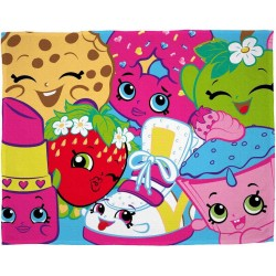 Shopkins Fleeceblanket Huopa Fleece 100 x 150cm