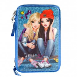 TOPModel Jenny and Liv 44-pieces Triple School Set Pencil Case Friends
