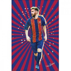 FC Barcelona Leo Messi Fleeceblanket Plaid Fleece 100 x 140 cm