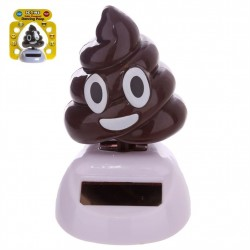 Dancing Solar Emoji Poop Joke Play Decoration Fun