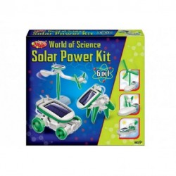 Solar Powered Robot kit 6in1 Robot Building Science Play Education
