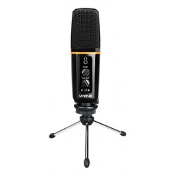 MAONO USB microphone for podcasting and streaming Black.