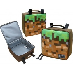 Minecraft Lunch Bag Lunch Box 23x23x8 cm