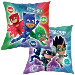 PJ Masks Pillow Double Sided Design Cushion Tyyny