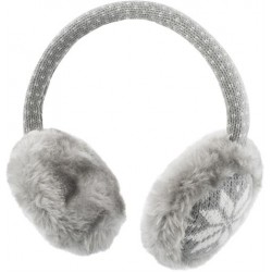 STREETZ Ear Muffs with Headset, 1m cable , black/grey