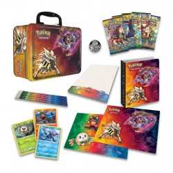 Pokemon Sun & Moon TCG Card Game Collector's Tin Chest