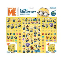 Minions Super Sticker Set 500stags klistermærker