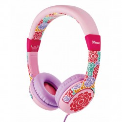 Trust Headphones Play Kids Flower Barn Music