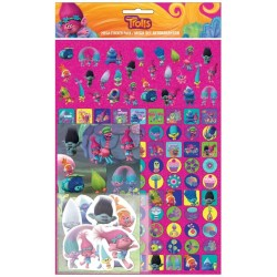 Trolls Mega Stickers Pack 150st Fun Foiled Klistermärken Mega Sticker Pack TROLLS 79,00 kr product_reduction_percent