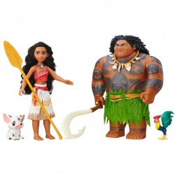 Disney Princess Moana/Vaiana Adventure Figure Multipack Nukke