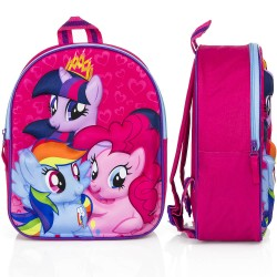 My Little Pony Reppu Laukku Backpack School Bag 3D Design 31x25x12cm