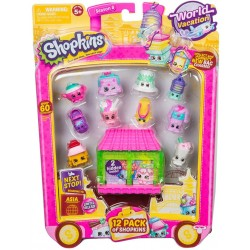 Shopkins 12 Pack Season 8 World Vacation Asia Limited Release