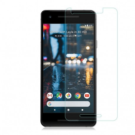 Google Pixel 2 Tempered Glass Screen Protector Retail Package