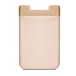 Colorfone Universal Smart Card Holder Silicone + Lycra GOLD
