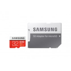 SAMSUNG MICRO SDHC EVO PLUS 32 GB KLASSE 10 W / SD ADAPTER