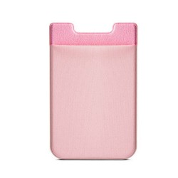 Colorfone Universal Smart Card Holder Silicone + Lycra PINK GOLD