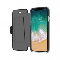 Celly Hexagon Wallet iPhone X/Xs Black