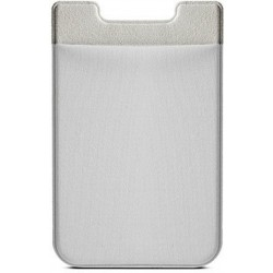 Colorfone Universal Smart Card Holder Silikone + Elastisk Lycra SILVER