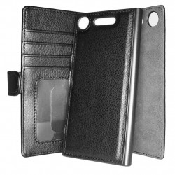 TOPPEN Wallet Magnetic Cover Sony Xperia XZ1 With RFID Blocking